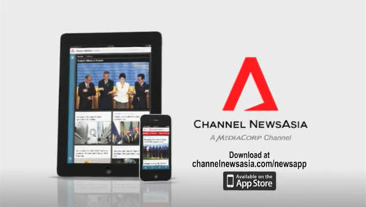 channel news asia i pad